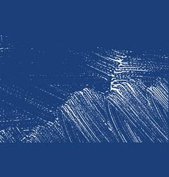 Grunge texture distress indigo rough trace excep vector