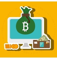 Laptop search bit coin vector