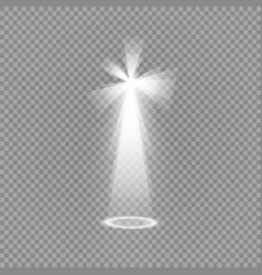 Light sources concert lighting spotlights vector