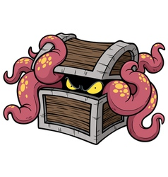 Monster octopus vector