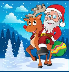 Santa claus thematic image 2 vector