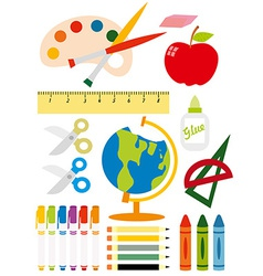 School equipment vector image