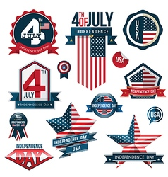 Set independence day vector