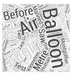 The History of the Hot Word Cloud Concept vector