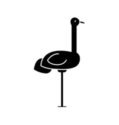 heron icon sign on isolate vector image