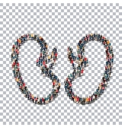 human kidneys medicine people 3d vector image vector image