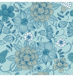 floral texture vector image vector image