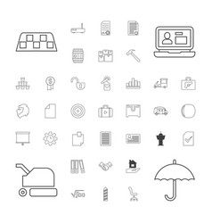 37 business icons vector