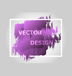 Abstract background with purple gradient vector