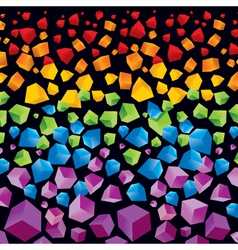 abstract colorful background for your desig vector image