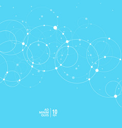 abstract minimal background with circle and vector image