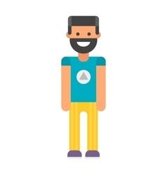 Beard man vector