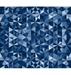 Blue Seamless Triangle Abstract Background vector image