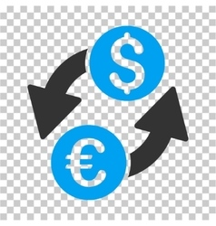 Euro Dollar Exchange Icon vector