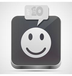 Face app icon vector