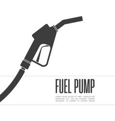 fuel pump icon vector image