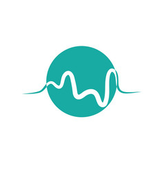 medical heartbeat pulse icon vector image