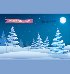 new year frosty background vector image