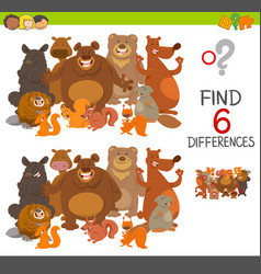 Spot the differences activity vector