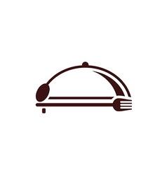 Restaurant logo vector image vector image