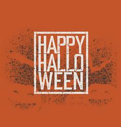 halloween abstract logo halloween party vector image vector image