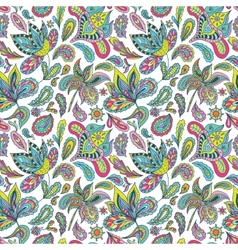 Hot Summer Indian Pattern vector image vector image