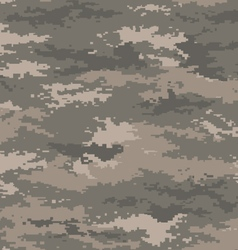 Pixel camouflage army universal seamless pattern vector image vector image