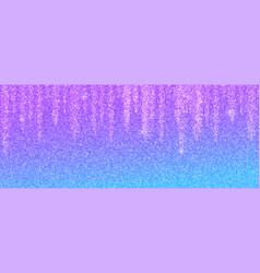 Abstract glittering background garland glitter vector