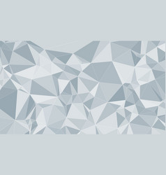 Abstract polygonal background conception vector