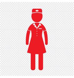 Air hostess stewardess icon design vector