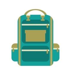 bag school isolated icon design vector image