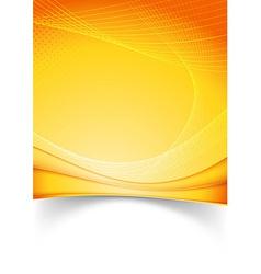 bright summer solar folder template vector image
