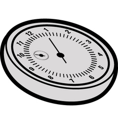 Cartoon stopwatch vector