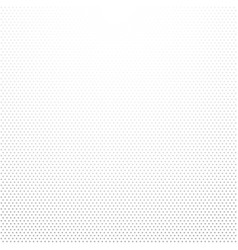 gray small dots gradient on white background vector image