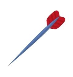 Isolated dart arrow vector