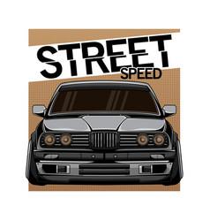 racing car design vector image