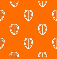 shield pattern seamless vector image