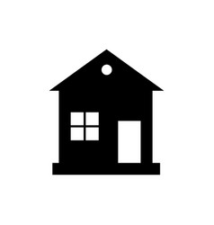 home icon house enter welcome concept vector image