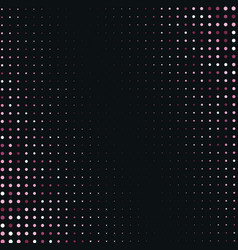 abstract pink halftone background vector image