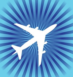 airplane4 vector image