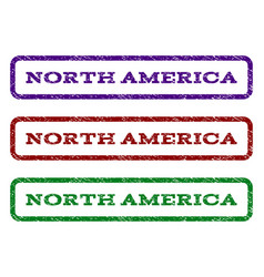 North america watermark stamp vector