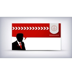 business man vector image vector image