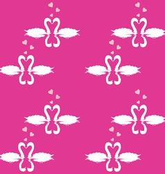 Swan Pattern vector image vector image