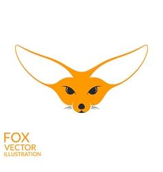 Fennec fox vector image vector image