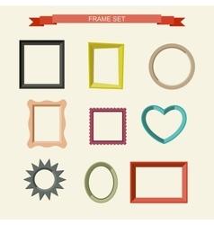 Photo frames vector image vector image