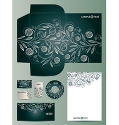 Doodles Corporate Design vector image