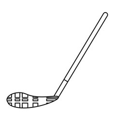 Ice hockey stick vector