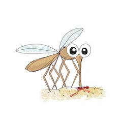 Mosquito design vector