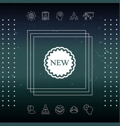 New offer icon vector