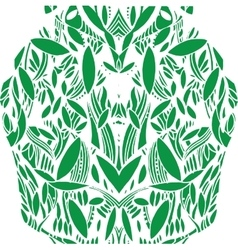 pattern foliage vector image